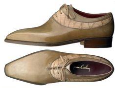 Rarely seen, bespoke model Bosphore in Calf and Croco. Stylish Mens Haircuts, Stylish Mens Outfits, Mens Shoes Boots, Men's Shoes, Dress Shoes, Stylish Men Over 50, Best Shoes For Men, Only Shoes, Dress With Boots