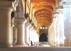 Thirumalai Nayakar Palace Madurai City