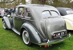 1946 Humber Hawk MKII 1944cc 4-cylinder side-valve engine