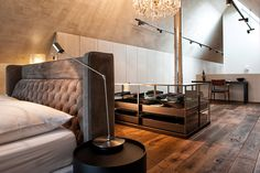 master bedroom, illuminated by robert illemann photography