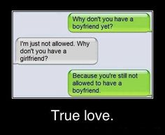 True love - awesome lines