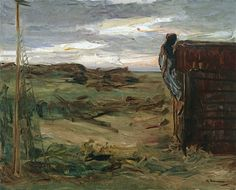 Max Liebermann - Beach with Shed
