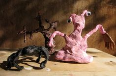 monster sculptures