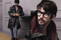 Ben Whishaw - behind the scenes Prada Menswear AW 2013/14