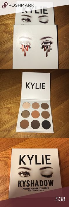 Brand 🆕 Kylie eyeshadow palette ✨ Brand new Kylie bronze eyeshadow palette! ❌PRICE FIRM/NO TRADES❌✨ Kylie Cosmetics Makeup Eyeshadow