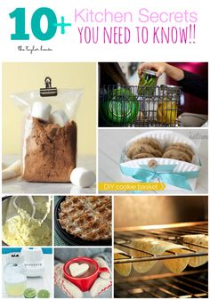 kitchen secrets, kitchen hacks