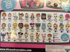 Disney DOORABLES Series 1-4 BRAND NEW!!!!
