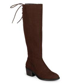 Another great find on #zulily! Brown Roz Boot #zulilyfinds