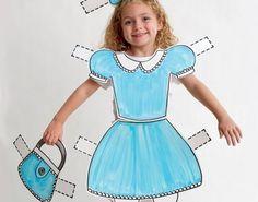 Disfraces de Halloween para niños: Muñeca de papel   Handspire