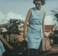 Karin Preller Karin Preller is a Johannesburg based artist. South African Artists, Summer Dresses, Portraits, Paintings, Inspiration, Artwork, Fashion, Biblical Inspiration, Moda