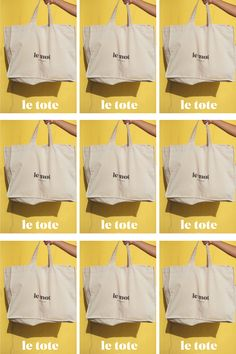 Le Tote, Tote Bag, Beach Bags, The Chic, Cotton Canvas, Nike Jacket, Portugal, Photoshoot, Cool Stuff
