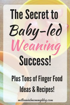 The Ultimate Step-by-step Guide to Baby-Led weaning! Plus tons of finger food ideas and recipes! Baby Food By Age, Toddler Meals, Toddler Food, Toddler Activities, Solids For Baby, Homemade Baby Foods, Babies First Year, Baby Led Weaning, Baby Bottles