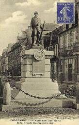 Le monument aux morts de la grande guerre (1914-1918) Monuments, World War I, Wwi, First World, Big Ben, 1914 1918, History, Building, Travel