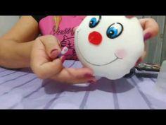 Como fazer uma linda centopeia em tecido passo a passo Snowman, Disney Characters, Cards, Baby, Youtube, 3d, Craft Videos, Diy And Crafts, Fabric Toys