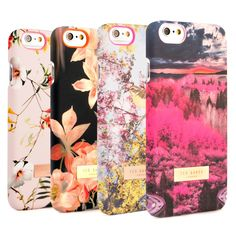 Stand out from the crowd with this range of iPhone 6 Ted Baker Cases from their Women's Fall/Winter 2014 collection. Featuring their latest prints and a Ted Baker London plaque, these official Ted Baker iPhone cases provide superb protection against drops and knocks, while looking elegant and feminine. Expertly crafted from tough polycarbonate with a soft-feel finish, these iPhone 6 covers have cleverly designed cut-outs in all the right places, allowing you to access all of the features of…