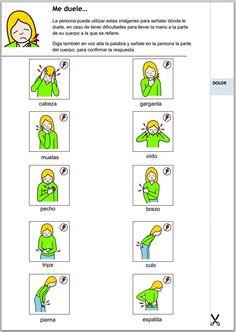 """""""Cuaderno de apoyo a la comunicación con el paciente"""". Diseñado para el apoyo en la comunicacióncon personas con discapacidad intelectual y dificultades en el lenguaje.   y dificultades en el lenguaje. http://www.ceapat.es/InterPresent2/groups/imserso/documents/binario/cuadernoapoyointelectual.pdf"""