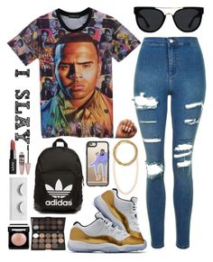 """💕💕"" by catsrgr8 ❤ liked on Polyvore featuring Topshop, adidas Originals, Quay, Casetify, Tiffany & Co. and Maybelline"