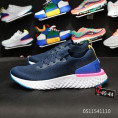 online store 707ae 6edd8 Nike Epic React Flyknit AQ0067 400 NAVY