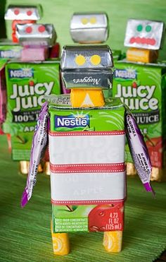 Robot Treats - these are so cute I can barely stand it...