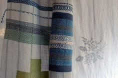 Mutsu (yellow apple) scarf, handwoven hemp,linen,cotton, and silk