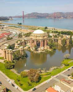 San Fancisco Architecture : Where my brothers and I fed the ducks! Palace of Fine Arts! San Francisco Travel Guide, San Francisco City, San Francisco California, Places To Travel, Places To Visit, Palace Of Fine Arts, San Fransisco, Journey, California Travel