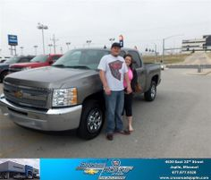 Happy Anniversary to Heather Renee Day on your 2012 #Chevrolet #Silverado 1500 from Justin Mcclure  and everyone at Crossroads Chevrolet Cadillac! #Anniversary