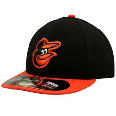 Men's Baltimore Orioles New Era Black Authentic Collection Low Profile Home 59FIFTY Fitted Hat