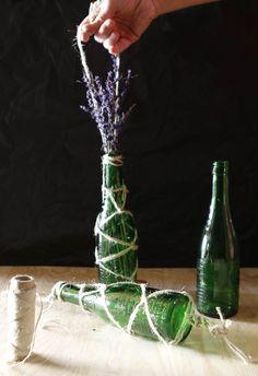 botella de cristal para adornar 11