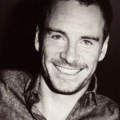 Michael Fassbender...yet another smile that should be considered a weapon of mass destruction