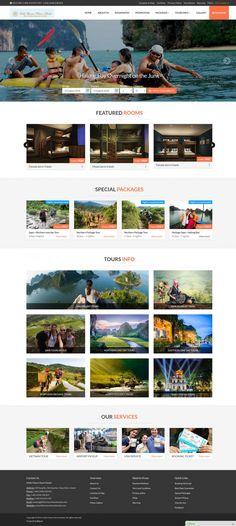 Thiết kế website khách sạn Littile Charm Hanoi Hostel Hanoi, Website, Hostel, Projects, Log Projects, Blue Prints