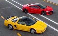 ホンダ NSX 欧州仕様、新旧比較…ひと回り大きな新型 - ニュース【新車情報】 - carview! - 自動車