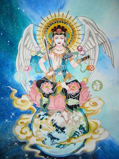 Monju bodhisattva  文殊菩薩