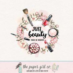 maquillaje logo belleza logo cosméticos logo Maquillaje