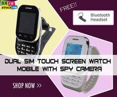 Watch Mobile With Spy Camera