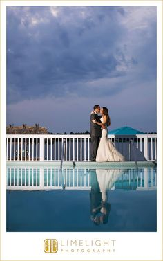 Limelight Photography, Key West, Ocean Key Resort, Florida, Florida Weddings, Wedding Photography, Wedding Day, Water Blue, Reflection, Blue Sky  http://www.stepintothelimelight.com/