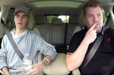 Justin Bieber Joined James Corden For Carpool Karaoke And It Was Perfect