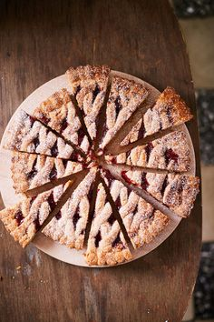 Osztrák meggylekváros pite | Street Kitchen Quiche, Winter Food, Cake Cookies, Food Styling, Breakfast Recipes, Food And Drink, Pie, Sweets, Healthy Recipes