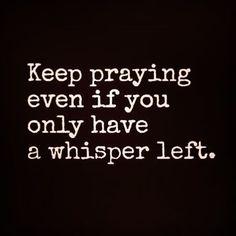 Keep praying!👌❤️Prayer works. God hears our prayer and He will answer you.  Trust God! 🙏❤️ #TrustInGod #Romans1513 #Godiswithus  #seekGodfirst #worry #anxiety  #stress #confused #overthinking #negativethinking #dontgiveup #hope #love #faith #encouragement #bible #whisper #Godcaresaboutyou  #talktoGod  #PraiseTheLord #WorshipGod #obeyGod #blessings #humble #prayer #Godwillprovide #JesusChrist #Godlovesyou #Godspromise #Godsfavor