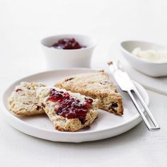 Orange-Cranberry Scones with Turbinado Sugar | Food & Wine goes way beyond mere eating and drinking. We're on a mission to find the most exciting places, new experiences, emerging trends and sensations.