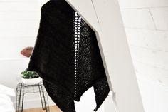 Driehoekige sjaal breien - Gratis patroon! - Wolplein.nl