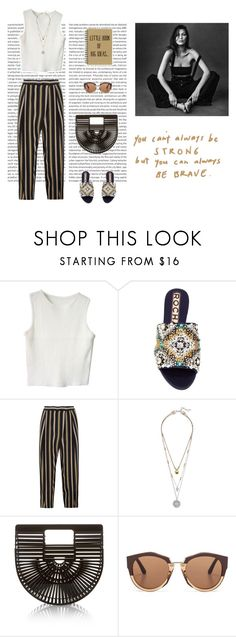 """""""Staying classy during summer"""" by dorey on Polyvore featuring Rochas, Chloé, Lucky Brand, Cult Gaia and Marni"""