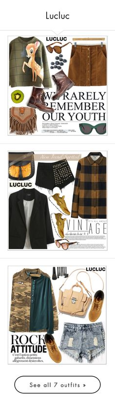 """""""Lucluc"""" by teoecar ❤ liked on Polyvore featuring CÉLINE, Uniqlo, Chloé, NIKE, MANGO, Timberland, Assouline Publishing, Paul Andrew, Runwaydreamz and Anna Sui"""