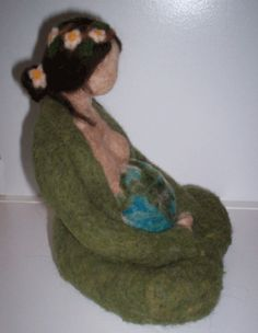Needle Felted Doll - Mother Earth