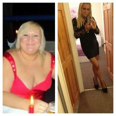 Slimming world before and after Best weight loss programme ever LOVE this girl! Such an inspiration and motivator!