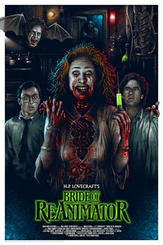 'Bride Of Re-Animator' (Variant Edition) by Adam Rabalais