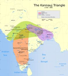 Pala empire comparison with other contemporary empires. India World Map, India Map, India Poster, India India, Nervous System Anatomy, Geography Map, History Of India, Study History, History Facts