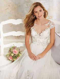 Alfred Angelo Bridal Style 8545 From Modern Vintage Gowns