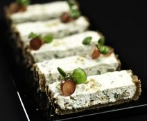 tart, blue cheese, nuts...