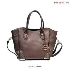 Sorrentino Fashion Fall Satchel with Removable Strap - Assorted Styles at 82% Savings off Retail!