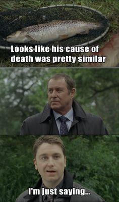 Midsomer Murders' Sgt. Troy. :)